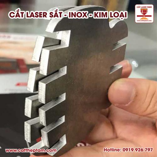 Cắt inox laser gia công chi tiết máy giá rẻ tphcm