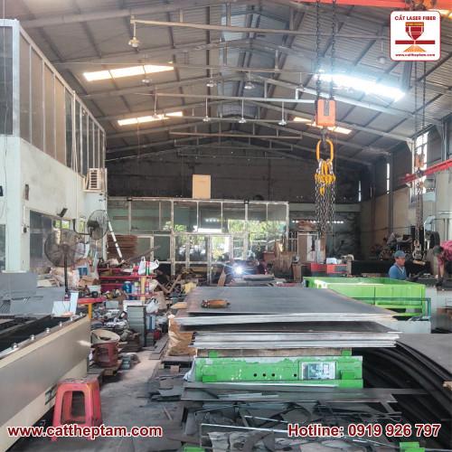 Cắt laser kim loại chính xác tới từng chi tiết TPHCM giao hàng nhanh chất lượng