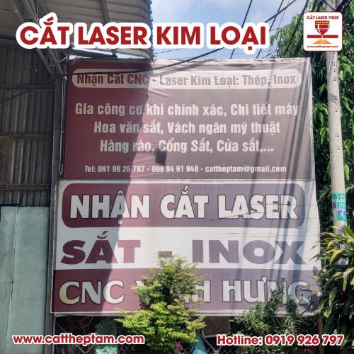 Cắt laser kim loại tinh xảo, gia công cơ khí chính xác công nghệ cao TPHCM