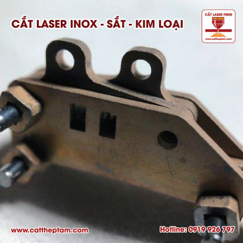Ưu điểm của cắt kim loại inox sắt thép bằng công nghệ laser fiber