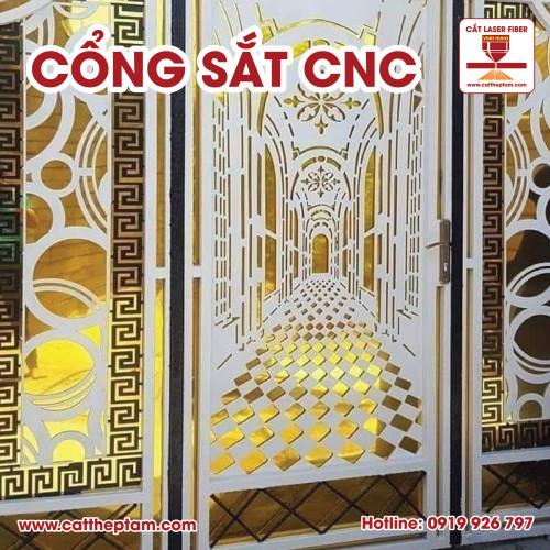 Nơi gia công cổng sắt CNC chất lượng uy tín giá rẻ bằng công nghệ cắt Laser với nhiều mẫu Cổng Sắt CNC đẹp
