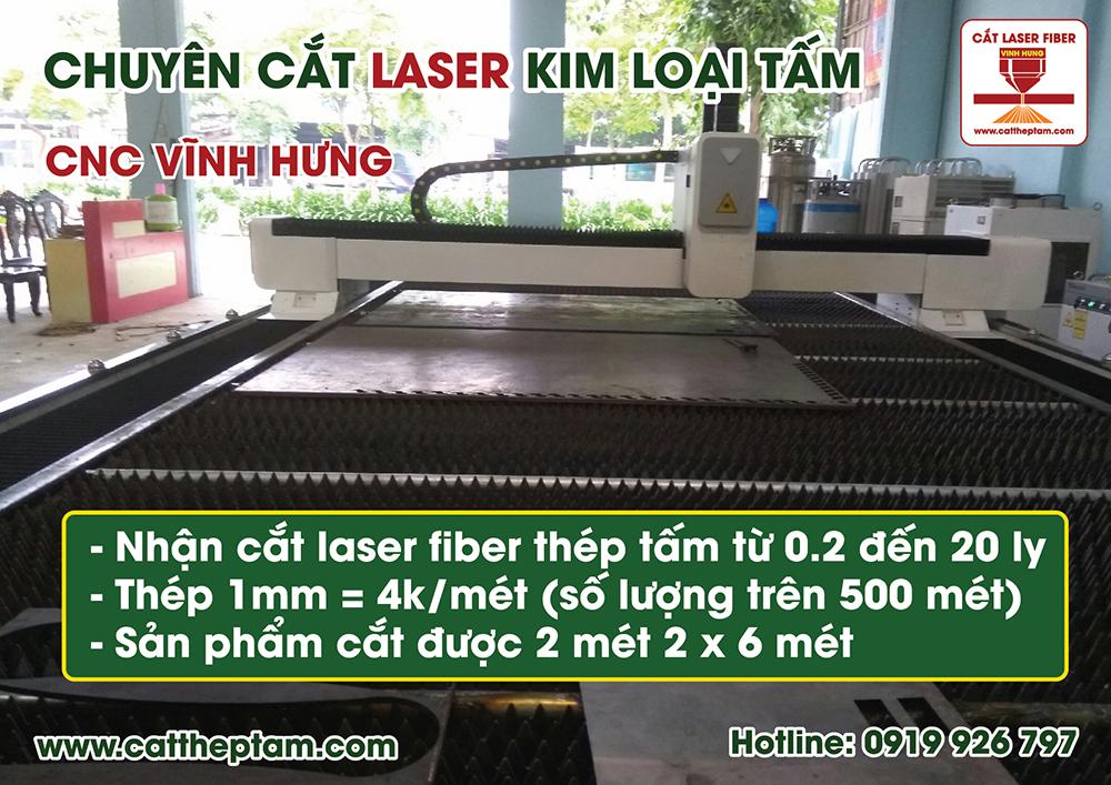 Cắt Laser Kim Loại giá rẻ