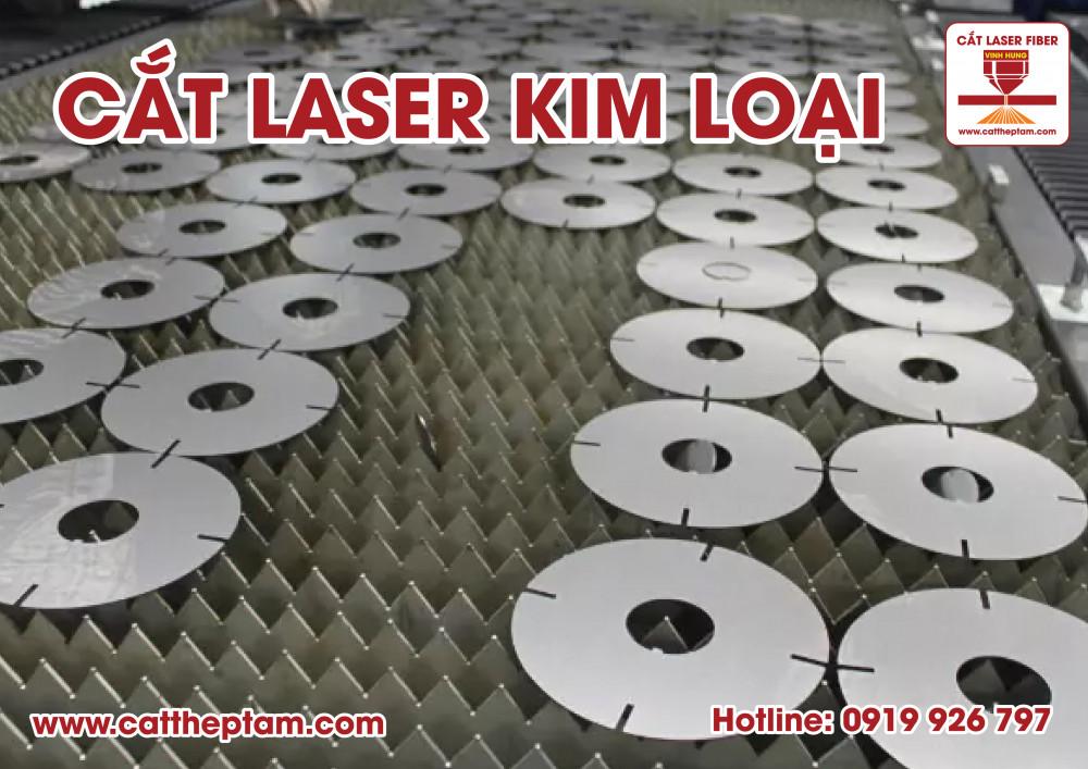 Nguyên lý của cắt laser kim loại và ưu điểm khi cắt laser tại Vĩnh Hưng CNC